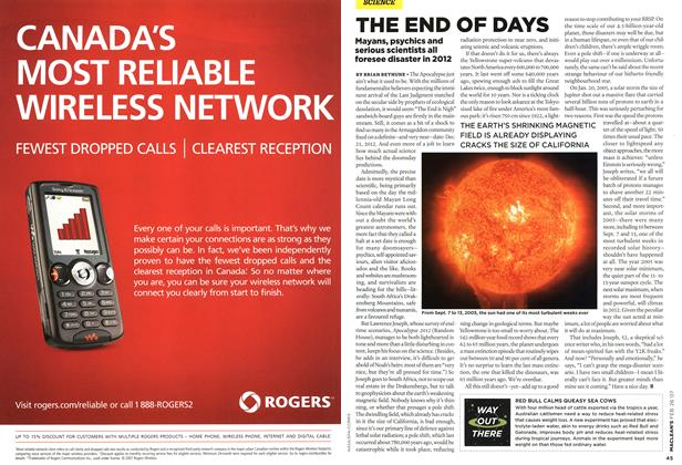 Article Preview: THE END OF DAYS, FEB. 26th 2007 2007 | Maclean's