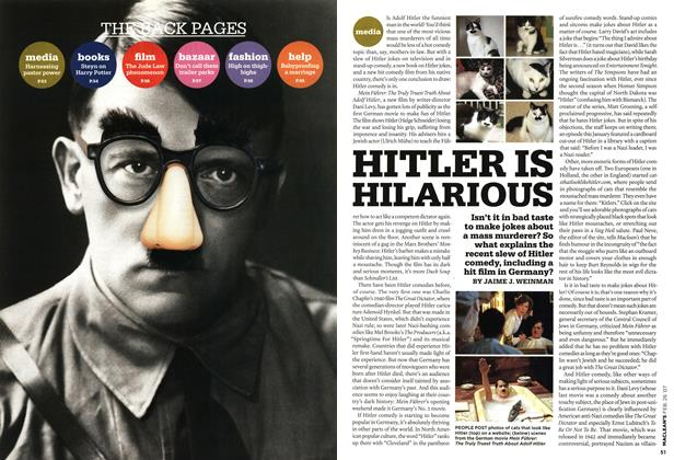 Article Preview: HITLER IS HILARIOUS, FEB. 26th 2007 2007 | Maclean's