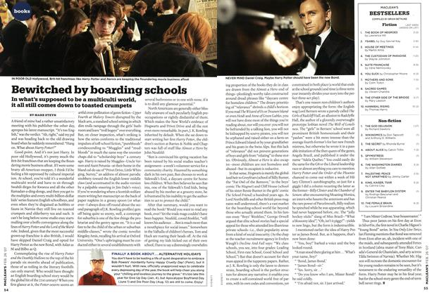 Article Preview: Bewitched by boarding schools, FEB. 26th 2007 2007 | Maclean's