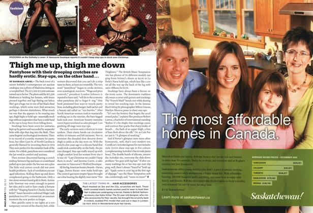 Article Preview: Thigh me up, thigh me down, FEB. 26th 2007 2007 | Maclean's