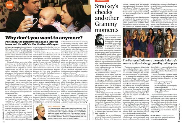 Article Preview: Smokey's cheeks and other Grammy moments, FEB. 26th 2007 2007 | Maclean's