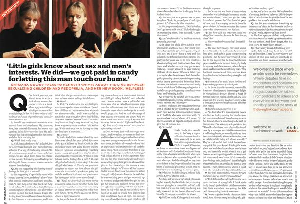 Article Preview: INTERVIEW, MAR. 5th 2007 2007 | Maclean's