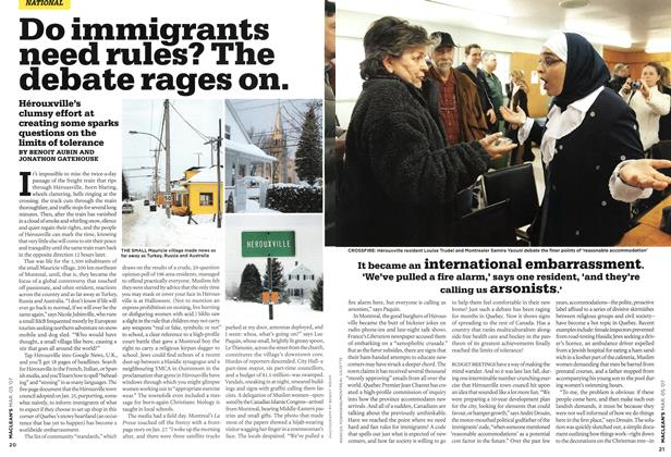 Article Preview: Do immigrants need rules? The debate rages on., MAR. 5th 2007 2007 | Maclean's
