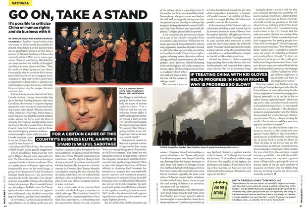 Article Preview: GO ON, TAKE A STAND, MAR. 5th 2007 2007 | Maclean's