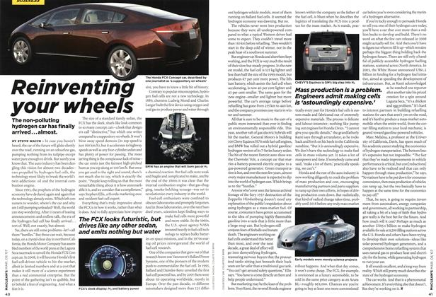 Article Preview: Reinventing your wheels, MAR. 5th 2007 2007 | Maclean's