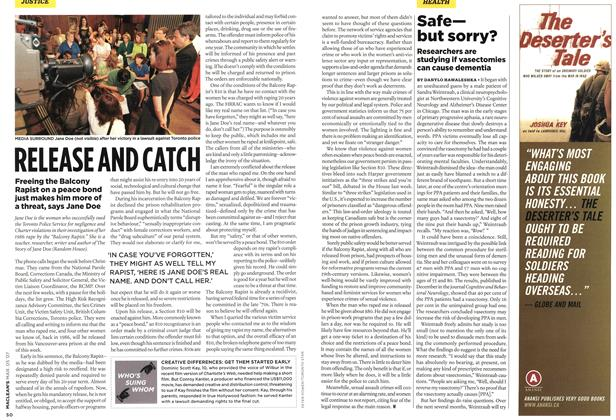 Article Preview: RELEASE AND CATCH, MAR. 5th 2007 2007 | Maclean's