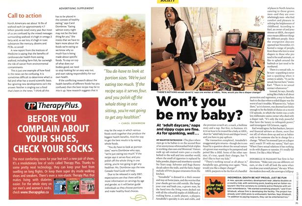 Article Preview: Won't you be my baby?, MAR. 5th 2007 2007 | Maclean's