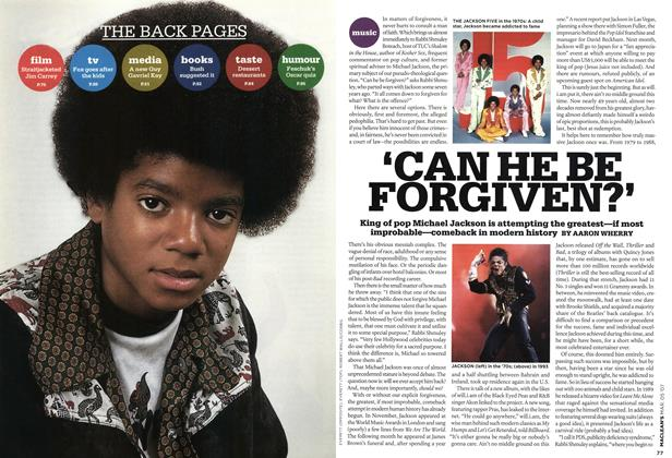 Article Preview: 'CAN HE BE FORGIVEN?', MAR. 5th 2007 2007 | Maclean's