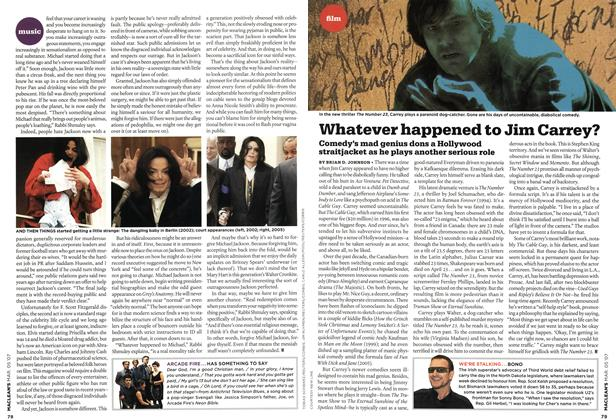 Article Preview: Whatever happened to Jim Carrey?, MAR. 5th 2007 2007   Maclean's