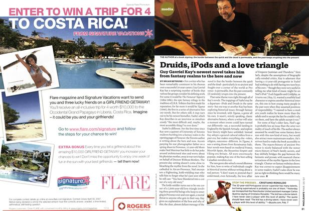 Article Preview: Druids, iPods and a love triangle, MAR. 5th 2007 2007 | Maclean's