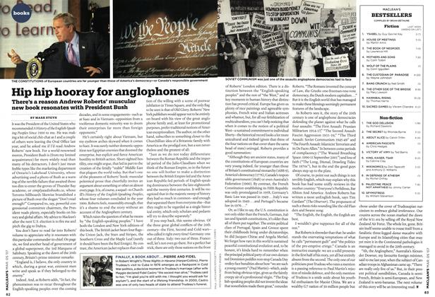 Article Preview: Hip hip hooray for anglophones, MAR. 5th 2007 2007 | Maclean's