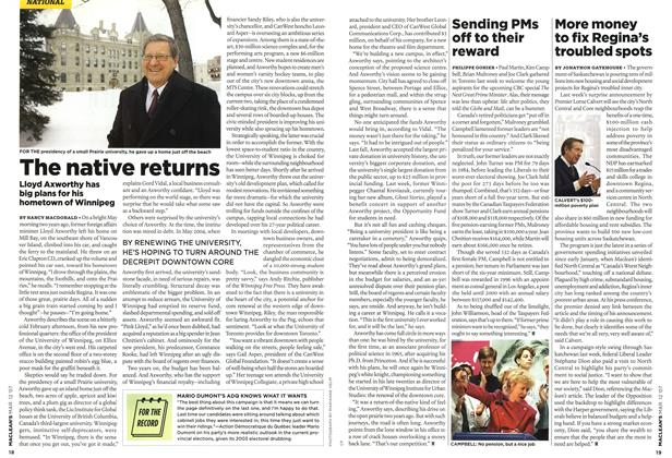 Article Preview: The native returns, March 2007 | Maclean's