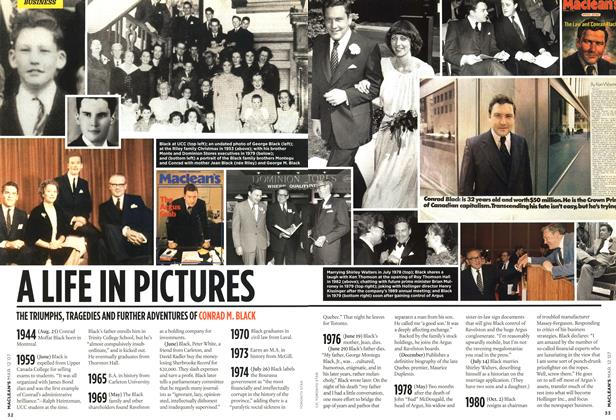 Article Preview: A LIFE IN PICTURES, March 2007 | Maclean's