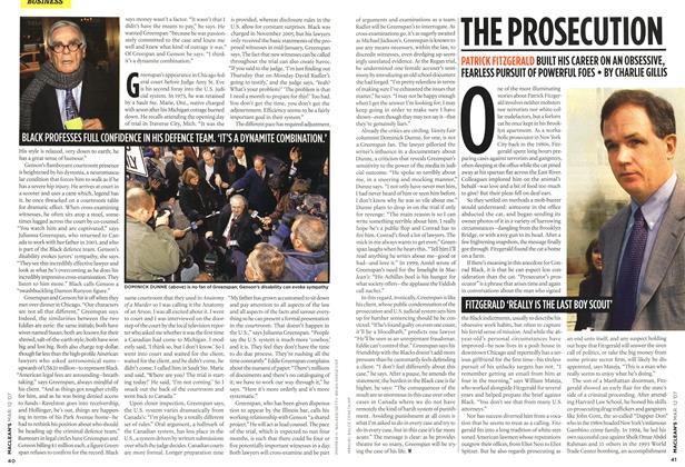Article Preview: THE PROSECUTION, March 2007 | Maclean's