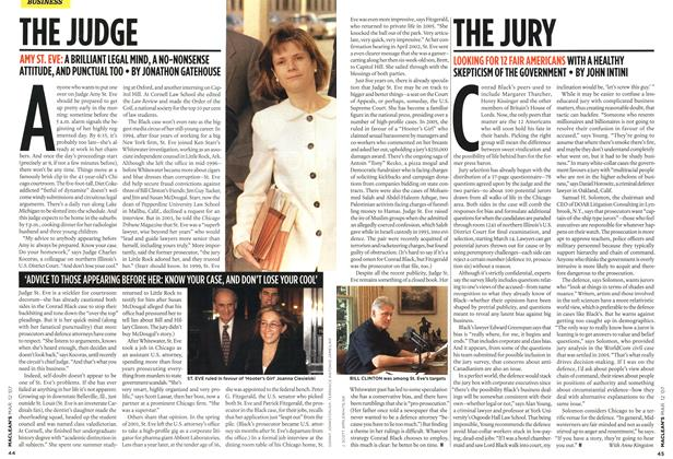 Article Preview: THE JUDGE, March 2007 | Maclean's