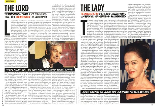 Article Preview: THE LADY, March 2007 | Maclean's
