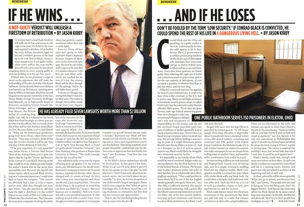 Article Preview: ... AND IF HE LOSES, March 2007 | Maclean's