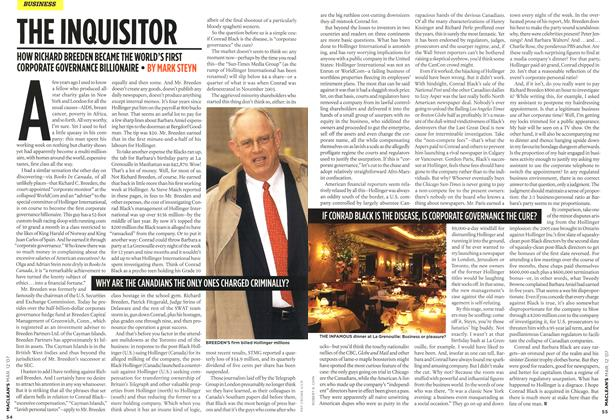 Article Preview: THE INQUISITOR, March 2007 | Maclean's