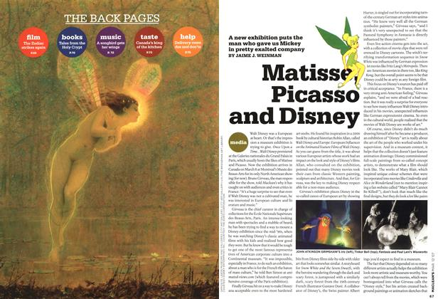 Article Preview: Matisse Picasso and Disney, March 2007 | Maclean's