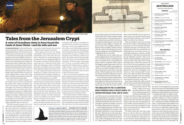 Article Preview: Tales from the Jerusalem Crypt, March 2007 | Maclean's