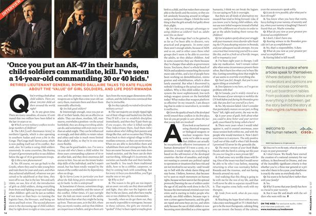 Article Preview: INTERVIEW, March 2007 | Maclean's