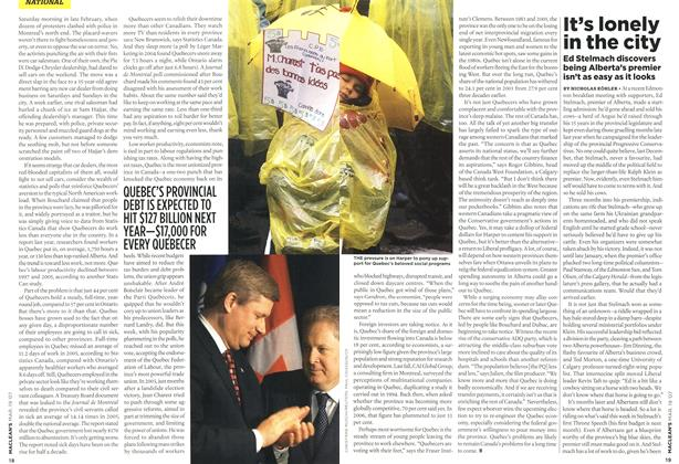Article Preview: It's lonely in the city, MAR. 19th 2007 2007 | Maclean's