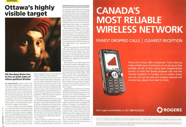 Article Preview: Ottawa's highly visible target, MAR. 19th 2007 2007 | Maclean's