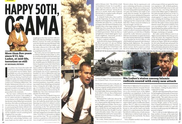 Article Preview: HAPPY 50TH OSAMA, MAR. 19th 2007 2007 | Maclean's