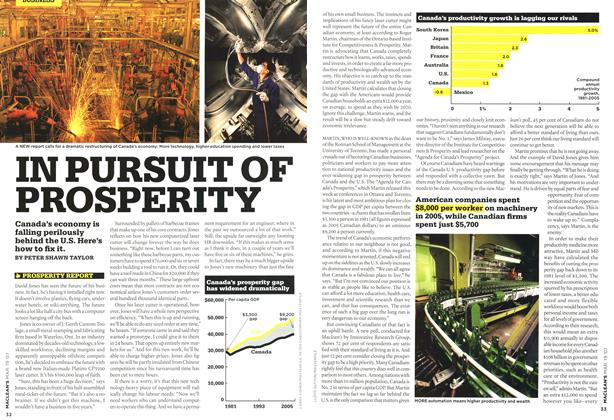 Article Preview: IN PURSUIT OF PROSPERITY, MAR. 19th 2007 2007 | Maclean's