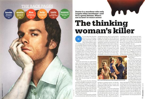 Article Preview: The thinking woman's killer, MAR. 19th 2007 2007 | Maclean's