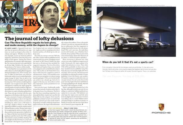 Article Preview: The journal of lofty delusions, MAR. 19th 2007 2007 | Maclean's