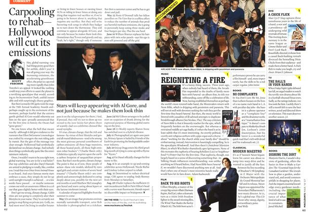 Article Preview: REIGNITING A FIRE, MAR. 19th 2007 2007 | Maclean's