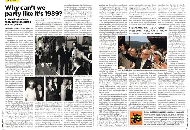 Article Preview: Why can't we party like it's 1989?, MAR. 26th 2007 2007 | Maclean's