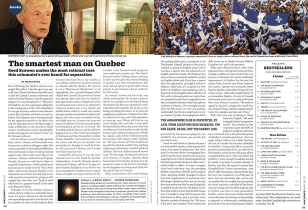 Article Preview: The smartest man on Quebec, MAR. 26th 2007 2007 | Maclean's