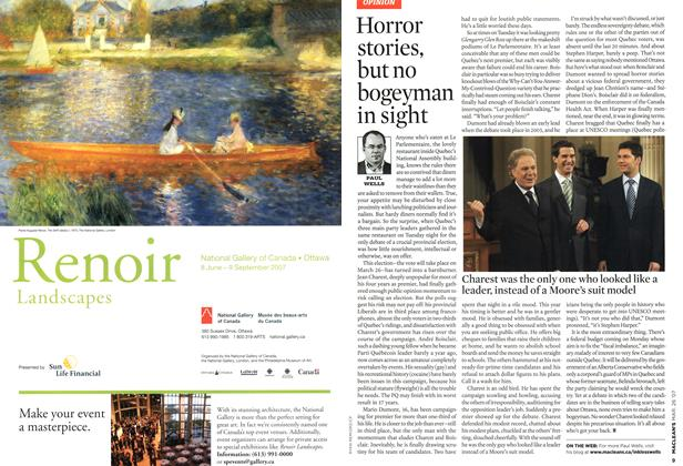 Article Preview: Horror stories, but no bogeyman in sight, MAR. 26th 2007 2007 | Maclean's
