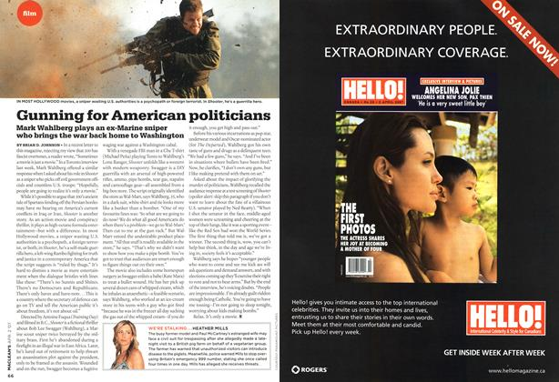 Article Preview: Gunning for American politicians, APR. 2nd 2007 2007 | Maclean's