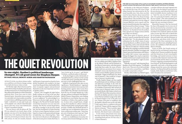 Article Preview: THE QUIET REVOLUTION, APR. 9th 2007 2007 | Maclean's