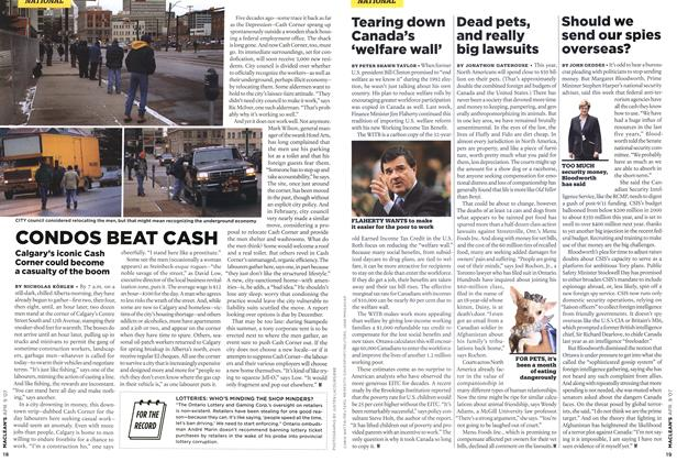 Article Preview: CONDOS BEAT CASH, APR. 9th 2007 2007 | Maclean's
