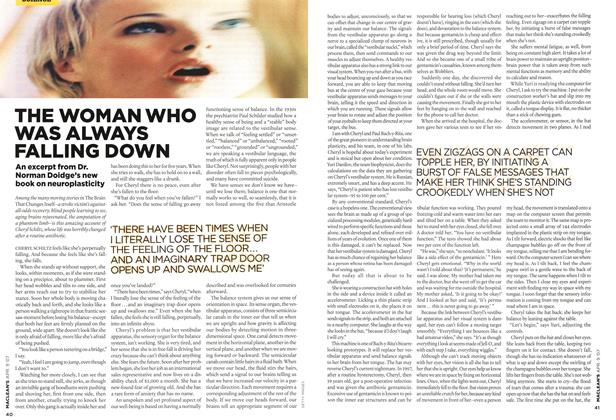 Article Preview: THE WOMAN WHO WAS ALWAYS FALLING DOWN, APR. 9th 2007 2007 | Maclean's