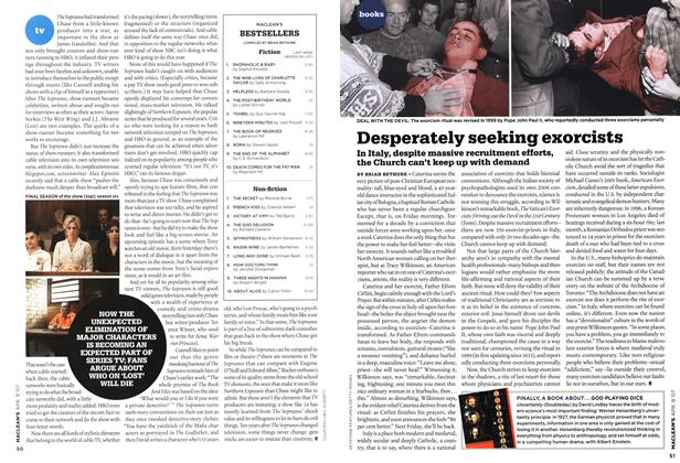 Article Preview: FINALLY, A BOOK ABOUT...GOD PLAYING DICE, APR. 9th 2007 2007 | Maclean's