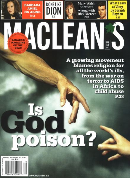 Issue: - APR. 16th 2007 | Maclean's