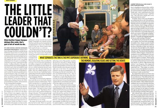 Article Preview: THE LITTLE LEADER THAT COULDN'T?, APR. 16th 2007 2007 | Maclean's