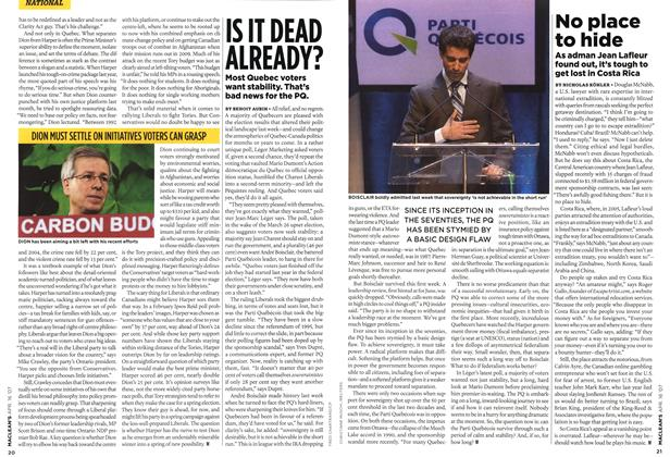 Article Preview: IS IT DEAD ALREADY?, APR. 16th 2007 2007 | Maclean's