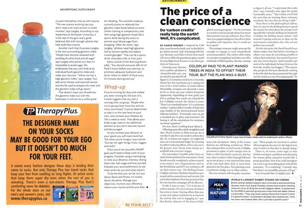 Article Preview: The price of a clean conscience, APR. 16th 2007 2007 | Maclean's