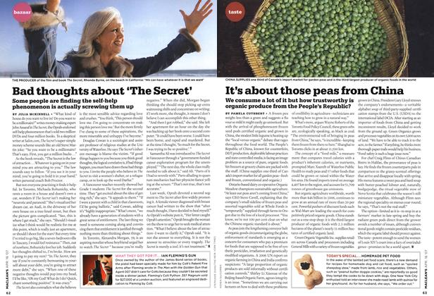 Article Preview: Bad thoughts about 'The Secret', APR. 16th 2007 2007 | Maclean's
