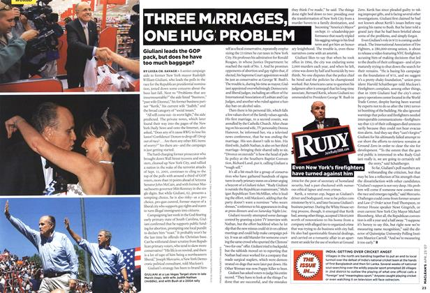 Article Preview: THREE MARRIAGES, ONE HUG PROBLEM, APR. 23rd 2007 2007 | Maclean's