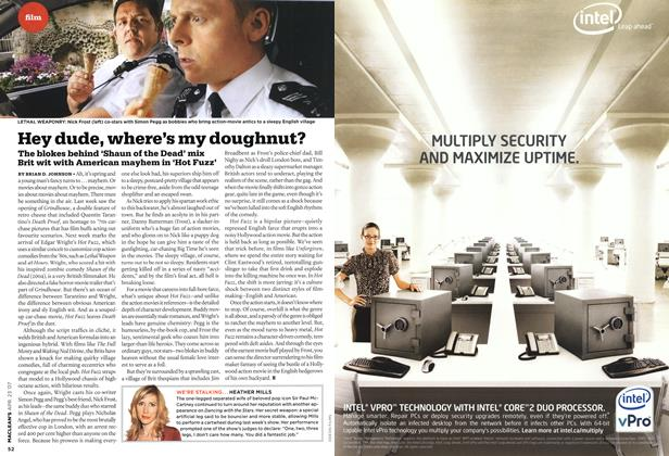 Article Preview: Hey dude, where's my doughnut?, APR. 23rd 2007 2007 | Maclean's