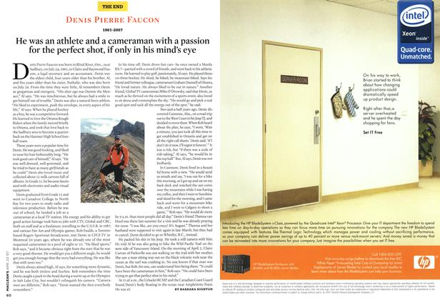 Article Preview: DENIS PIERRE FAUCON, APR. 23rd 2007 2007 | Maclean's