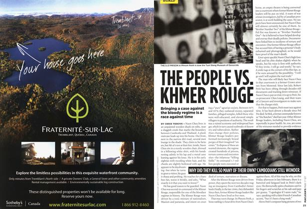 Article Preview: THE PEOPLE VS. KHMER ROUGE, MAY 7th 2007 2007 | Maclean's