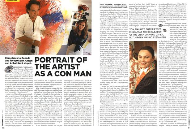 Article Preview: PORTRAIT OF THE ARTIST AS A CON MAN, MAY 7th 2007 2007 | Maclean's